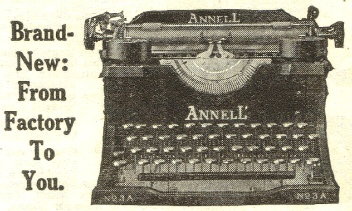 Click the picture to see the whole ANNELL' advertisement.