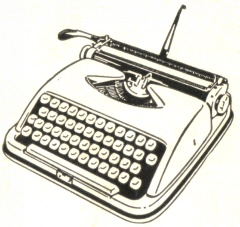 Click this typewriter to reach my LINKS TO OTHER SITES.