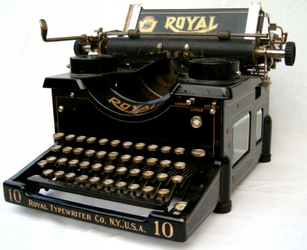 Royal Typewriter Serial Number