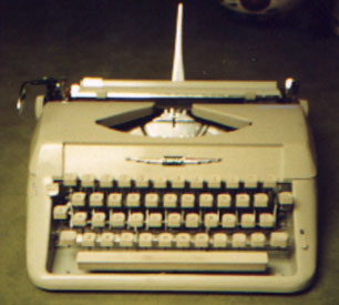 Click here to find out about PORTABLE TYPEWRITERS.