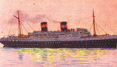 HOOVER would run aground in the Far East in 1937; sister COOLIDGE sunk by mine 1942.