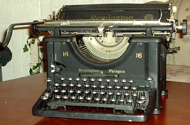 Click here to find out about ANTIQUE TYPEWRITERS.